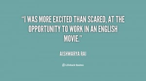 Scared and Excited Quotes