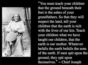 chief joseph | Tumblr