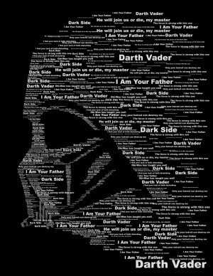 Star Wars Quotes Dark Side Vader ~ Popular items for dark side on Etsy