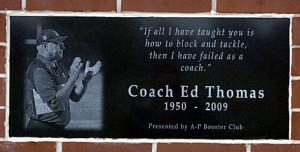 ... at the Applington-Parkersburg (Iowa) High School football facility
