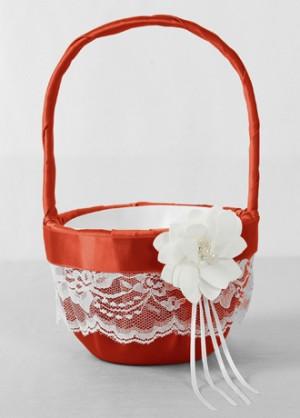 ... Flower Girl Basket,David's Bridal ceremony > wedding ceremony > flower