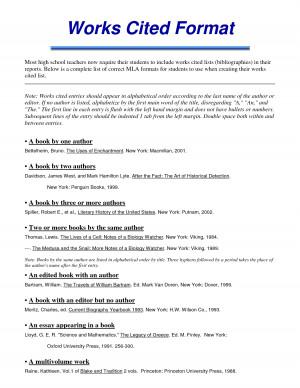 Mla format essay generator