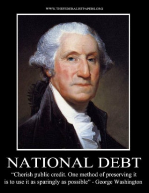 The First President of the United States of America