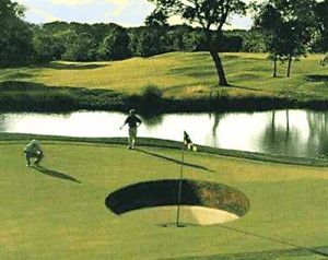 golf is a very serious game that requires great concentration the golf ...
