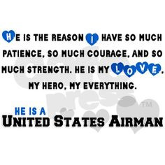 My Hero. My Love. My Airman.