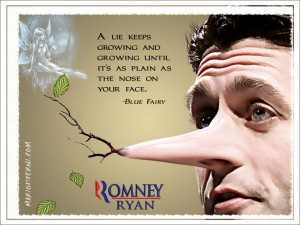 Lyin' Ryan: VP Candidate Paul Ryan's Lies Catching Up With Him