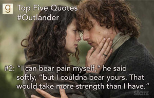 Want more Outlander quotes? Find them here!