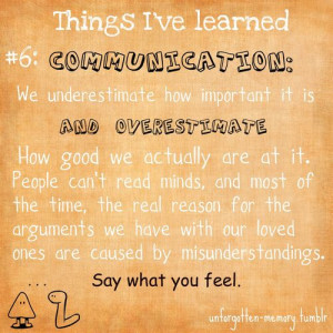 life communication relationships quotes lesson typography