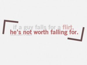 Hes Not Worth It Quotes He's not worth falling for
