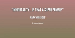 Marky Mark Wahlberg