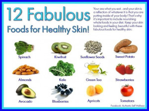 Healthy Skin Quotes Via the clear skin project