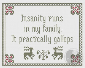 Arsenic and Old Lace Insanity quote