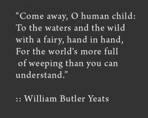... Yeats Quotes, Yeats Poetry, Williams Butler Yeats Quotes, Fairies, W.B