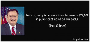 More Paul Gillmor Quotes