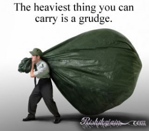 Quote on holding grudge
