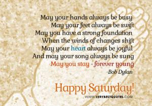 Good Morning Saturday Quotes and Sayings