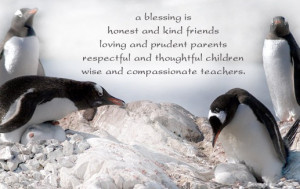 ... respectful and thoughtful children wise and compassionate teachers