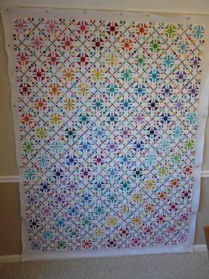 What type of border would you put on this (it is an Omigosh quilt)?