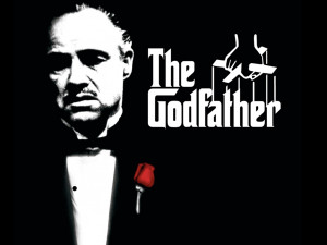 The Godfather (1972) Poster, Marlon Brando, cross, Directed by Francis ...