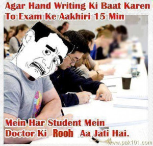Funny University Student Quotes Last 15 minutes of paper