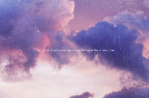 cloud, clouds, colorful, pink, purple, quote, sky, text, typography