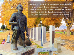 Honor To The Soldier And Sailor Every Where Who Bravely Bears His ...