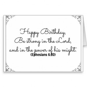 June 10 Bible Birthday card with Ephesians verse