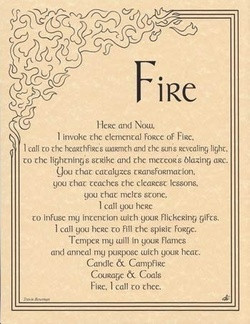 fire water Magic earth air Paganism wiccan pagan wicca elements book ...