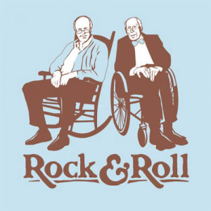 ... tags for this image include: funny, old people and rock and roll