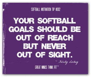 Softball Quotes for Team Motivation