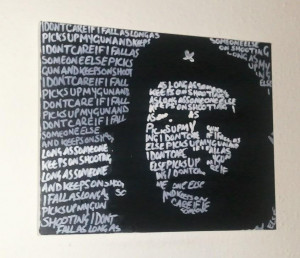 Che Guevara Quotes Painting