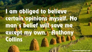 Anthony Collins quotes top famous quotes and sayings from Anthony