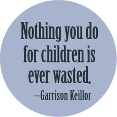 For all parents, guardians, care takers, Big Sisters/Big Brothers ...