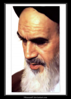 Imam Khomeini 1 by 70hassan07