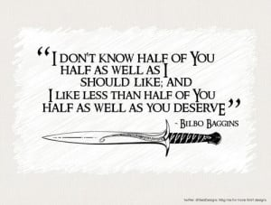 the hobbit the movie that opened today this quote by bilbo baggins the ...