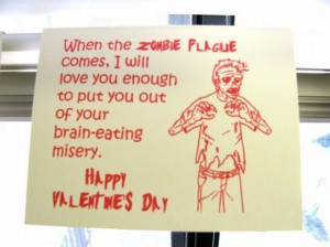 Zombie Plague : For those creepy lovebirds who want to celebrate their ...
