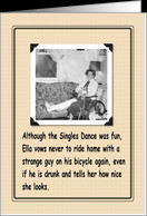 Broken Leg Excuse card - Product #154615