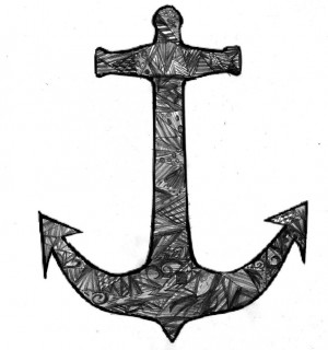 Anchor zendoodle by LunicExplosions