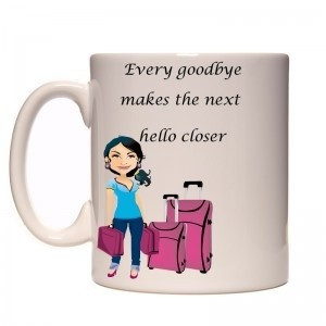 Farewell, quotes, sayings, inspiring, cup, print