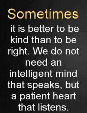 Quote on intelligence and patience