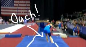 Gymnast Problems The code: vault problems