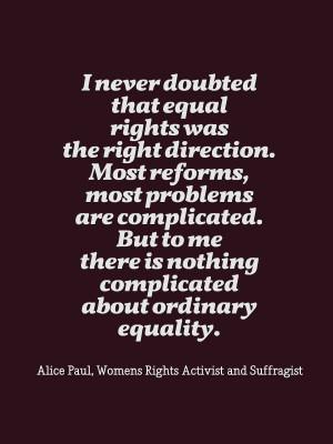 Jan 11 - Alice Paul's Birthday Paul Birthday