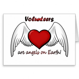 Angel Volunteers Thank You Card