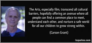 More Carson Grant Quotes