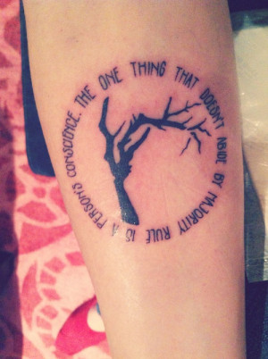 Go Back > Gallery For > To Kill A Mockingbird Quotes Tattoo