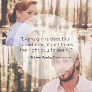 Love quote. The Notebook