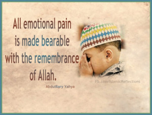Abdulbary Yahya on Emotional Pain