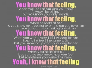 Mixed Feelings Quotes You know that feeling