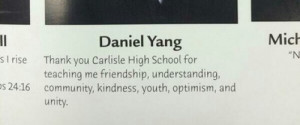 Worst Yearbook Quotes and Moments: I look better than the person next ...
