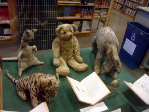 The original stuffed toys owned by Christopher Robin Milne and ...